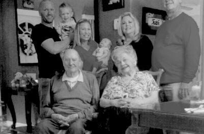 Five generations of Hollywood family spans 91 years
