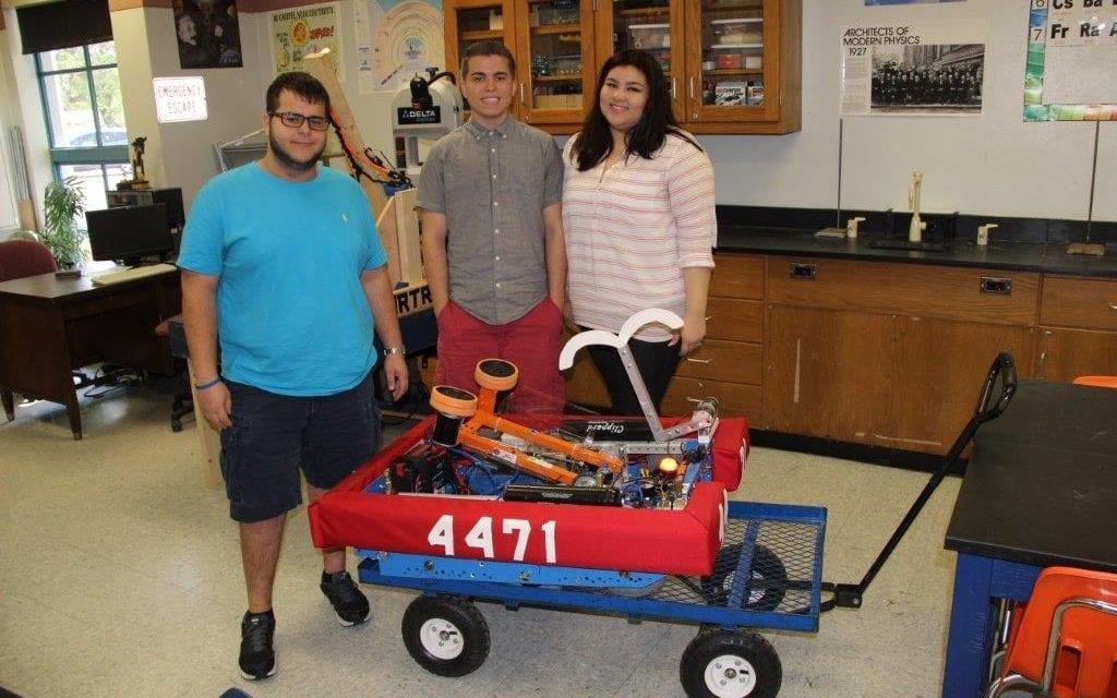 Hollywood Hills High robotics club prepares aspiring engineers