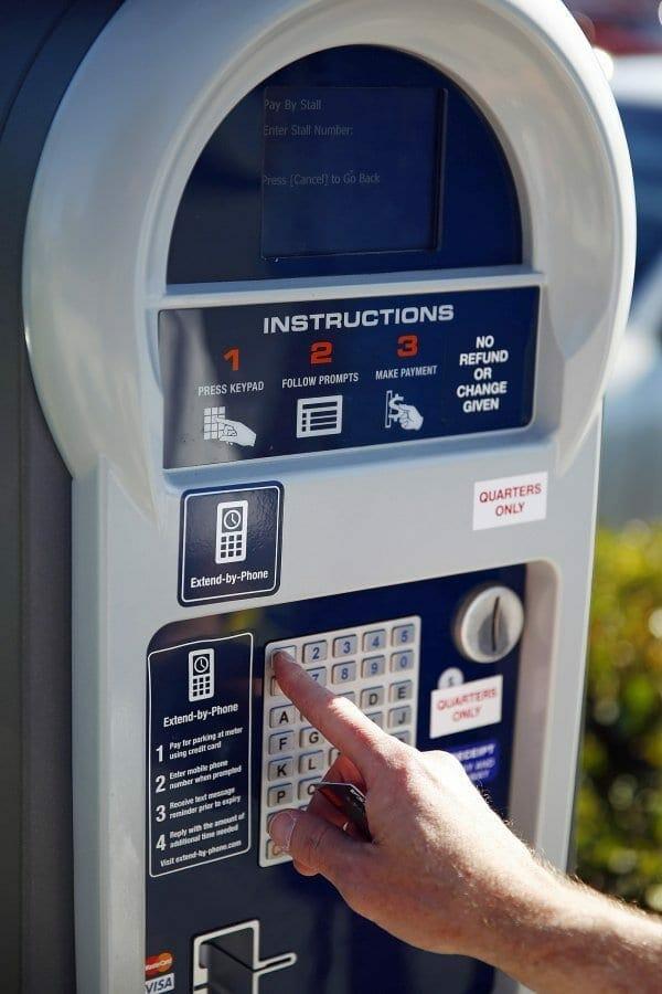 Hollywood Beach Parking Meters