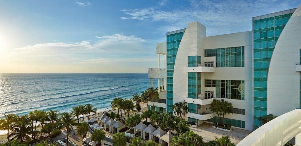 Convention center ocean