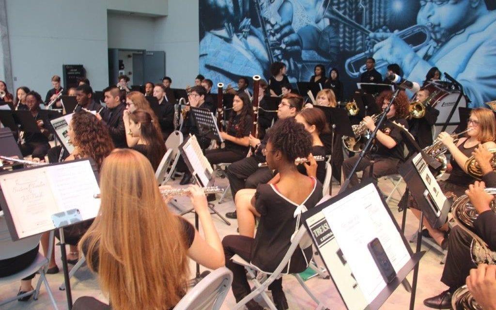 High school bands showcase skills at MLK Fun Day