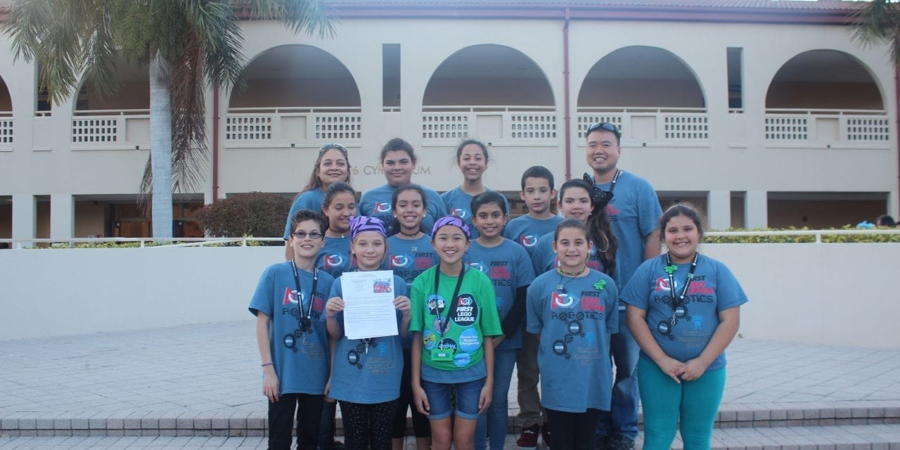 Sheridan Park Elementary students invited to compete in FIRST LEGO League Open Championship