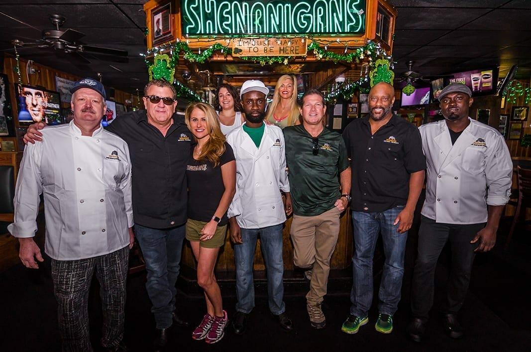 Everyone's Irish at Shenanigans on St. Patrick's Day!