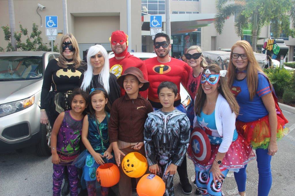 Joe DiMaggio Children's Hospital Hosts Community Halloween Event