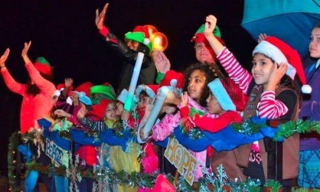 62nd Candy Cane Parade Rolls Down Hollywood Beach Broadwalk