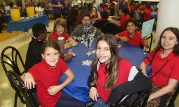 Apollo Middle School Students Taste-Test Future School Lunch Menu Items