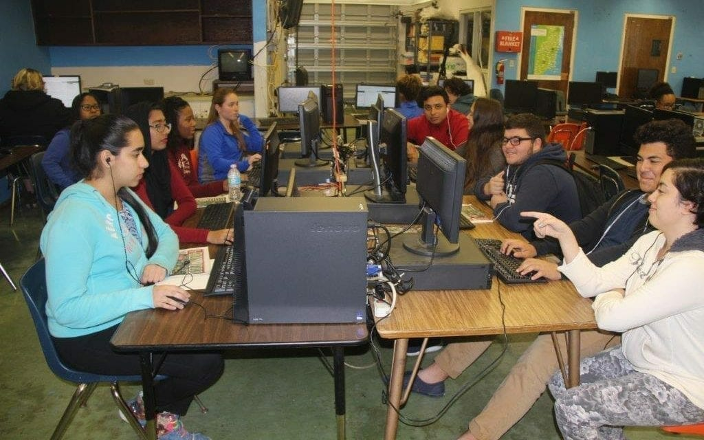 Hollywood Hills High School Knows: There's a Future in Coding