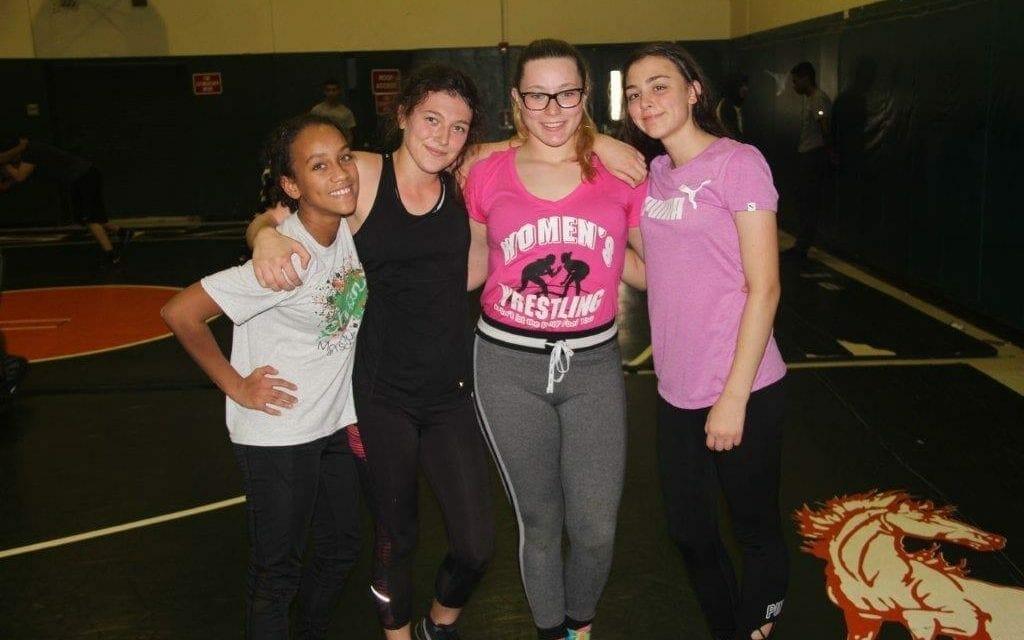 McArthur Girls Wrestlers Compete in State Meet in Orlando