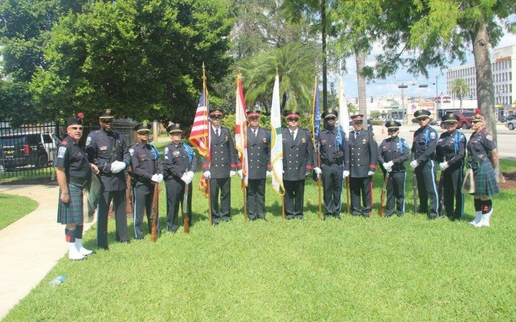 Hollywood Police Honor Six Fallen Officers and One Canine During ...