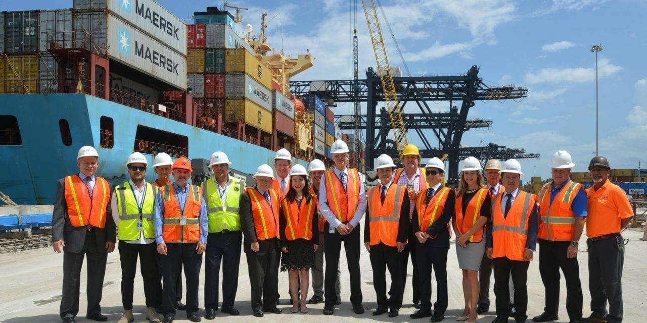New 'Super-sized Cranes' Under Construction at Port Everglades
