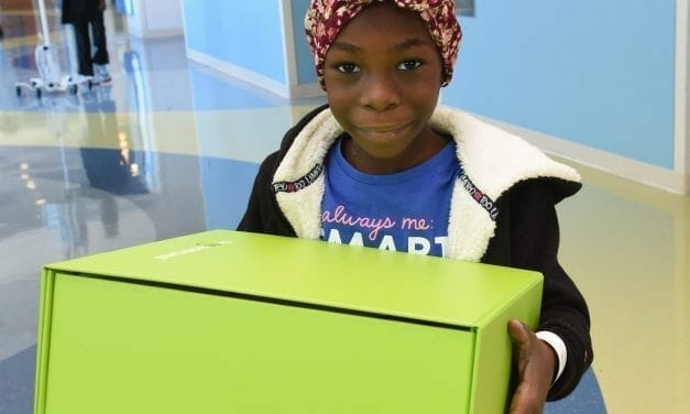 'Big Green Boxes of Cheer' Delivered to Kids with Serious Health Issues