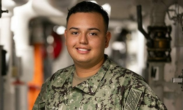 Hollywood Native Serves Aboard One of Navy's Most Advanced Warships
