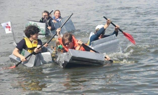 Hollywood Cardboard Boat Race Returns After Three Year Hiatus