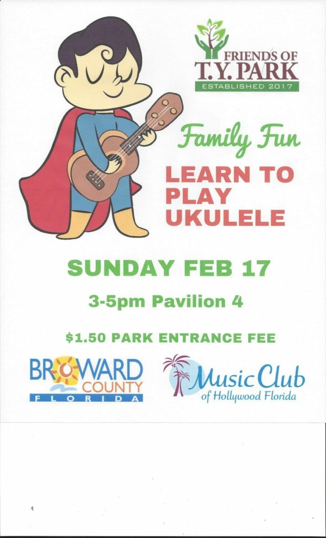 Friends of t.y. park ukulele fest