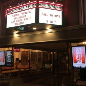 Cinema Paradiso, Hollywood